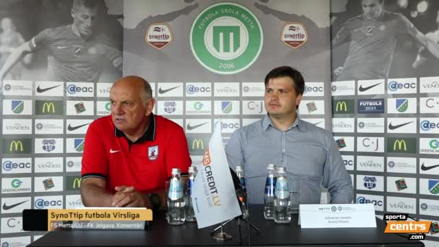 VIDEO: FS Metta/LU - FK Jelgava 0:1 preses konference (10.sep.)
