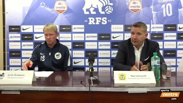 VIDEO: RFS - FK Ventspils 0:3 preses konference (10.sep.)