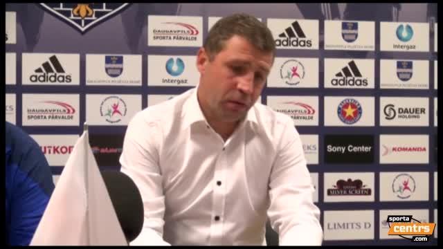 VIDEO: BFC Daugavpils - FK Liepāja 0:1 preses konference (10.sep.)