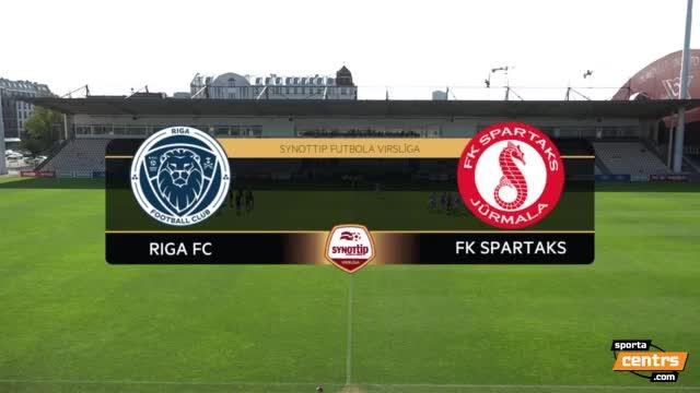 VIDEO: Riga FC - FK Spartaks Jūrmala 1:1 spēles momenti (11.sep.)