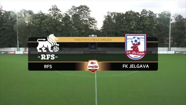 VIDEO: RFS - FK Jelgava 1:0 spēles momenti (16.sep.)