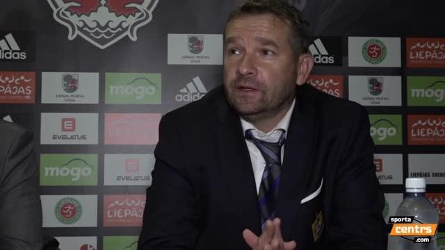 VIDEO: FK Liepāja - FK Ventspils 0:0 preses konference (23.sep.)