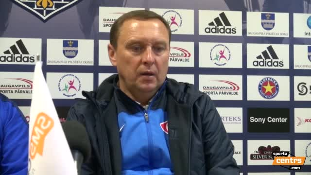 VIDEO: BFC Daugavpils - FK Spartaks Jūrmala 2:1 preses konfernece (24.sep.)