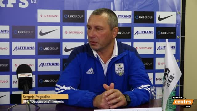 VIDEO: RFS - BFC Daugavpils 2:0 preses konference (1.okt.)