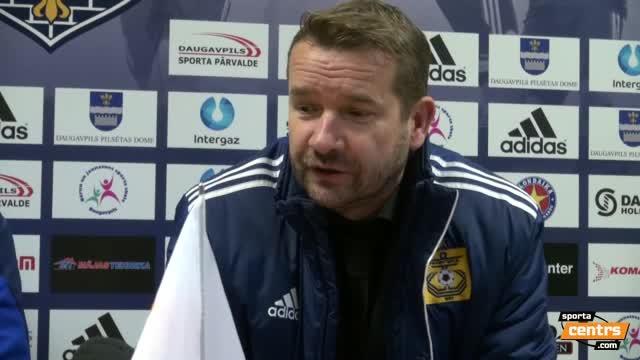 VIDEO: BFC Daugavpils - FK Ventspils 0:4 preses konference (16.okt.)