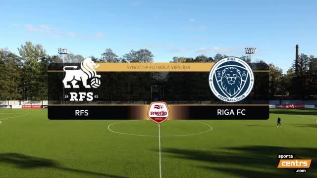 VIDEO: RFS - Riga FC 0:0 spēles momenti (16.okt.)