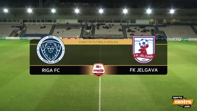 VIDEO: Riga FC - FK Jelgava 1:0 spēles momenti (19.okt.)