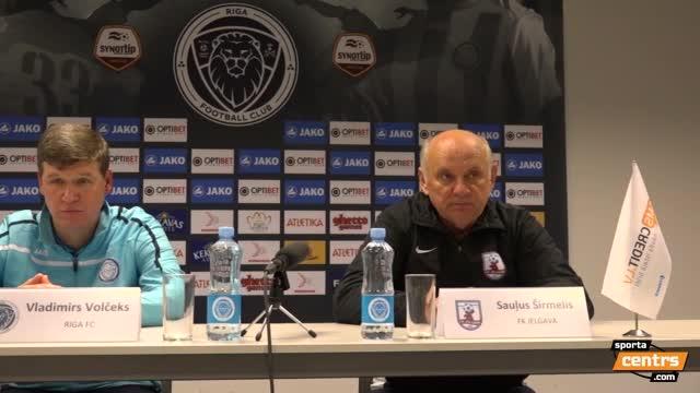 VIDEO: Riga FC - FK Jelgava 1:0 preses konference (19.okt.)