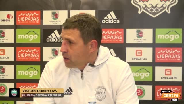 VIDEO: FK Liepāja - RFS 0:1 preses konference (21.okt.)