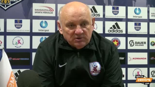 VIDEO: BFC Daugavpils - FK Jelgava 0:1 preses konference (29.okt.)