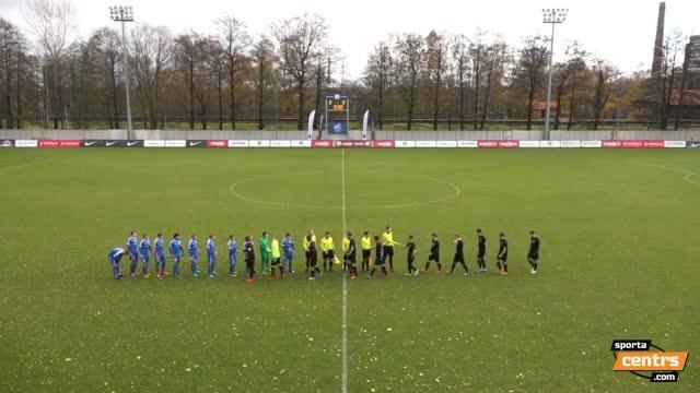 VIDEO: RFS - FK Spartaks Jūrmala 0:2 spēles momenti (29.okt.)