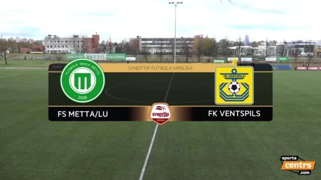 VIDEO: FS Metta/LU - FK Ventspils 2:1 spēles momenti (29.okt.)
