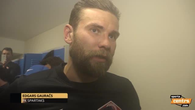 VIDEO: Pēcspēles intervija ar Edgaru Gauraču un preses konference (29.okt.)