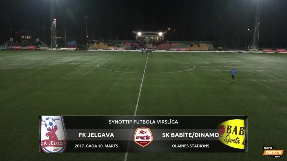 VIDEO: FK Jelgava - SK Babīte/Dinamo 1:0 spēles momenti (10.mar.)