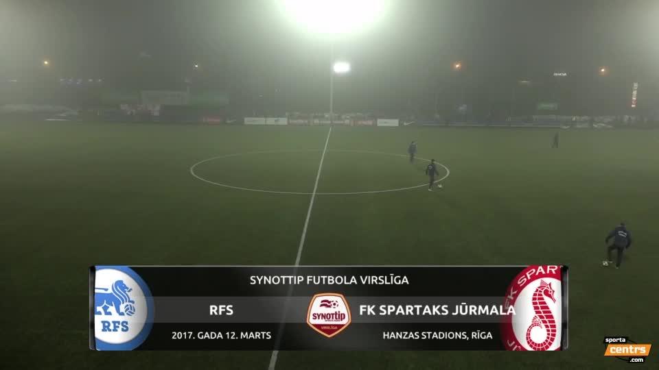 VIDEO: RFS - Spartaks Jūrmala 2:1 spēles momenti (12.mar.)