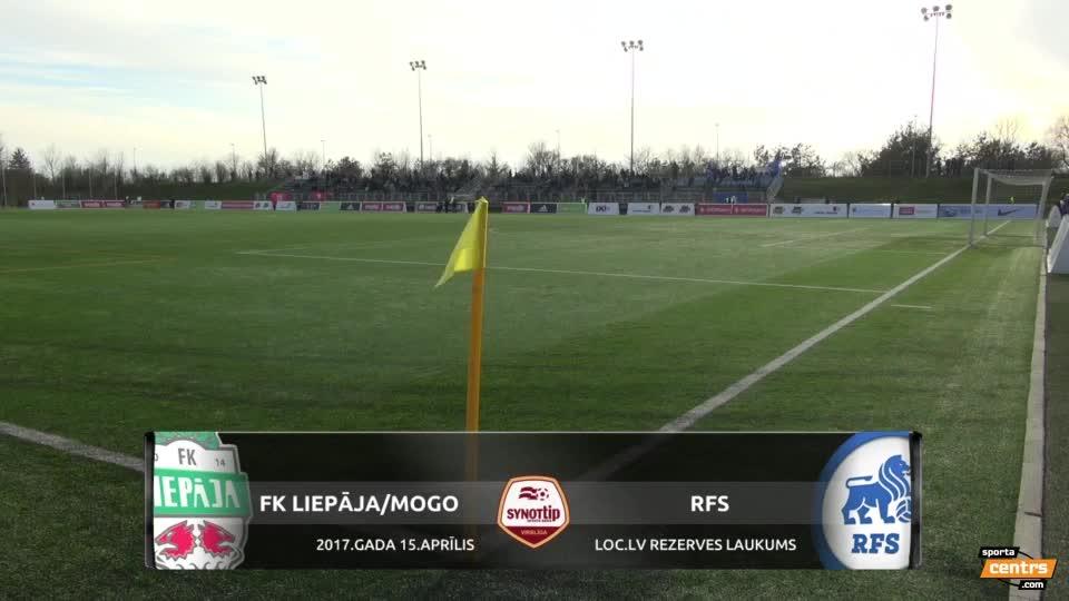 VIDEO: FK Liepāja/MOGO - RFS 0:1 spēles momenti (15.apr.)