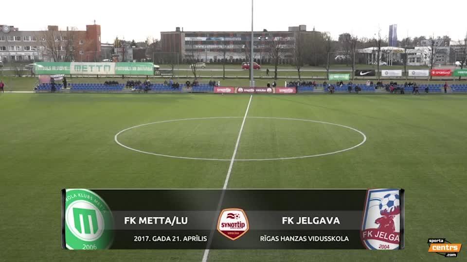VIDEO: FK Metta/LU - FK Jelgava 1:3 spēles momenti (21.apr.)