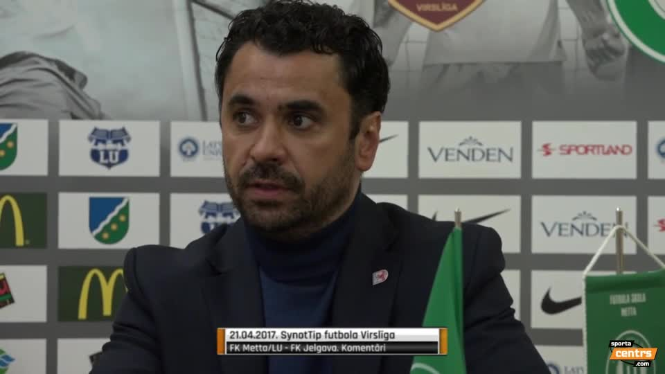 VIDEO: FK Metta/LU - FK Jelgava 1:3 preses konference (21.apr.)