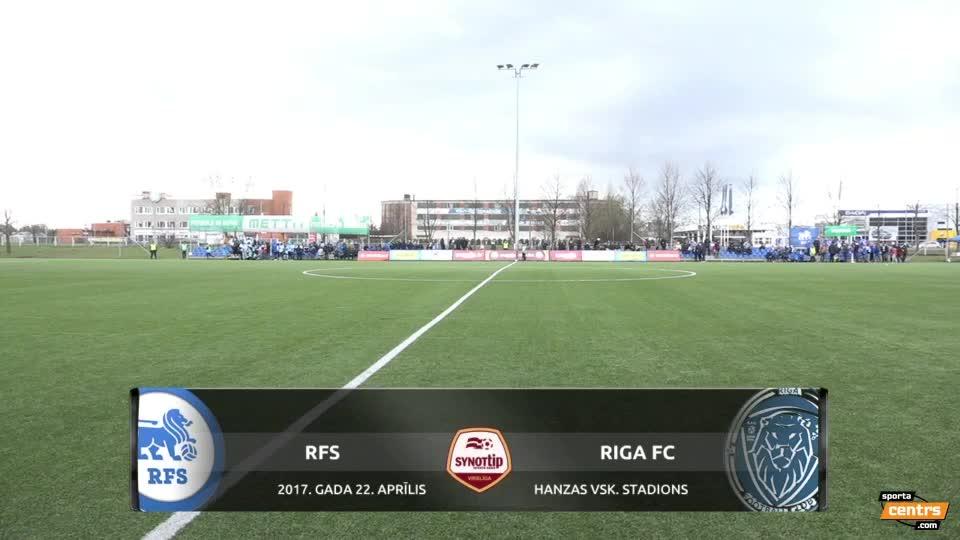 VIDEO: RFS - Riga FC 0:1 spēles momenti (22.apr.)