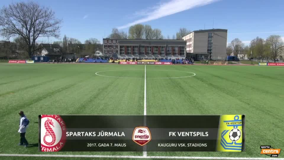 Video: Spartaks Jūrmala - FK Ventspils 0:0 spēles momenti (7.mai.)