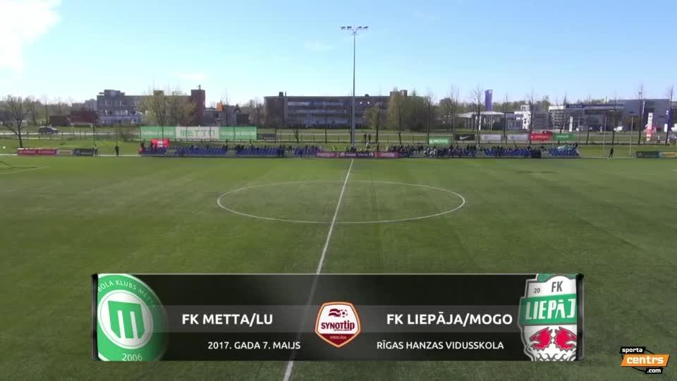 VIDEO: FK Metta/LU - FK Liepāja/Mogo 1:3 spēles momenti (7.mai.)