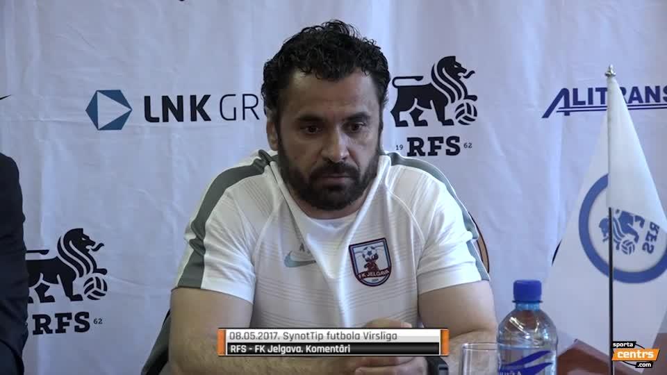 VIDEO: RFS - FK Jelgava 0:1 preses konference (8.mai.)