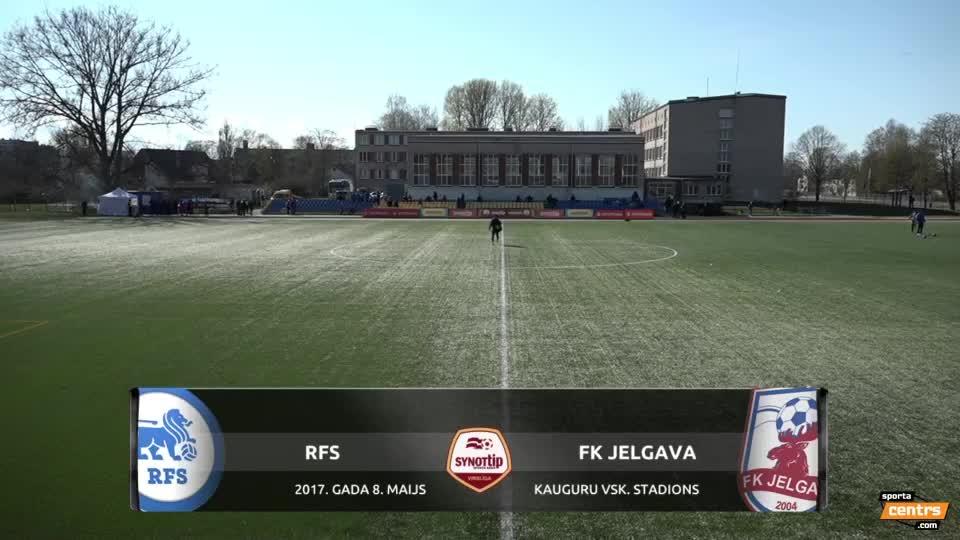 VIDEO: RFS - FK Jelgava 0:1 spēles momenti (8.mai.)