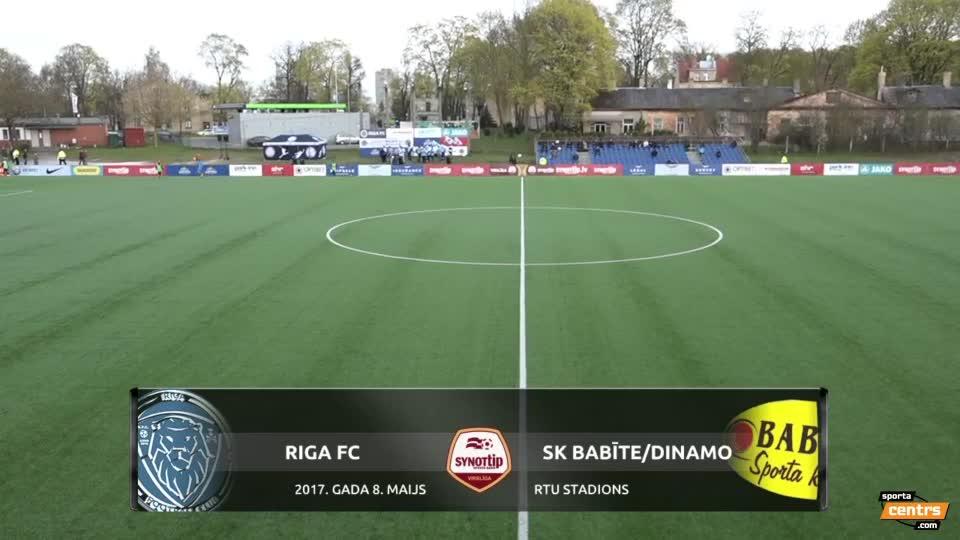 VIDEO: Riga FC - SK Babīte/Dinamo 2:1 spēles momenti (8.mai.)