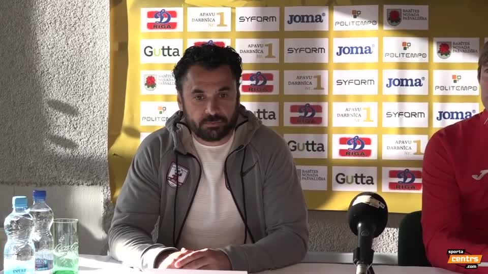 VIDEO: SK Babīte/Dinamo - FK Jelgava 0:5 preses konference (12.mai.)