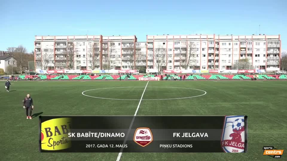 VIDEO: SK Babīte/Dinamo - FK Jelgava 0:5 spēles momenti (12.mai.)
