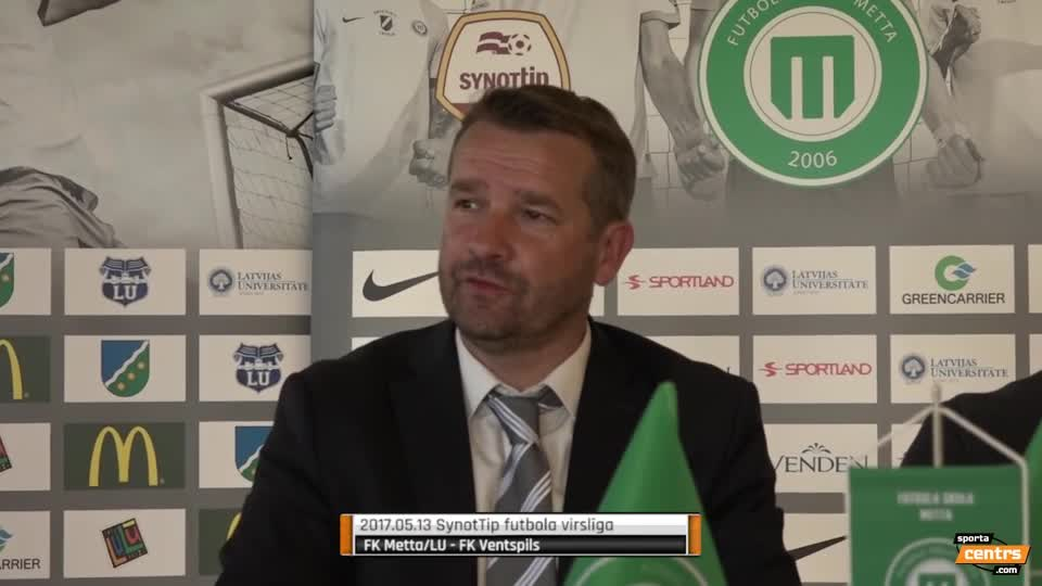 VIDEO: FK Metta/LU - FK Ventspils 1:1 preses konference (13.mai.)