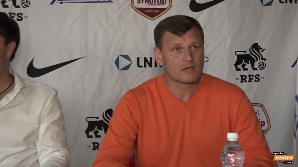VIDEO: RFS - SK Babīte/Dinamo 2:1 preses konference (21.mai.)