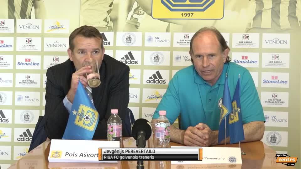 VIDEO: FK Ventspils - Riga FC 0:0 spēles momenti (21.mai.)