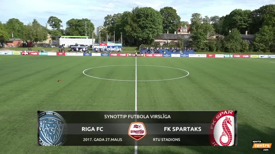 VIDEO: Riga FC - Spartaks Jūrmala 1:1 spēles momenti (27.mai.)