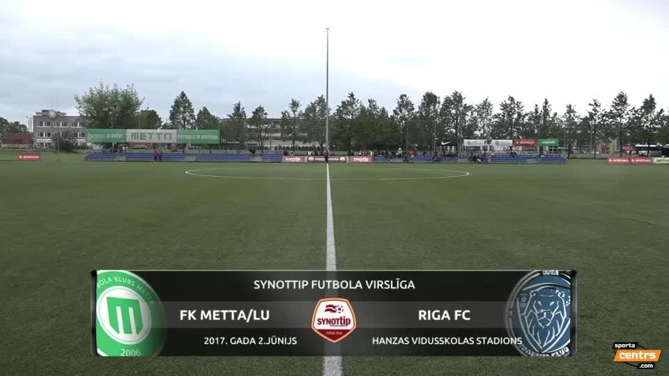VIDEO: FK Metta/LU - Riga FC 0:0 spēles momenti (2.jūn.)