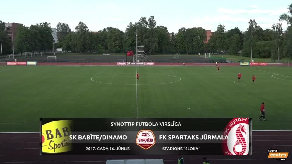 VIDEO: SK Babīte/Dinamo - Spartaks Jūrmala 0:1 spēles momenti (16.jūn.)