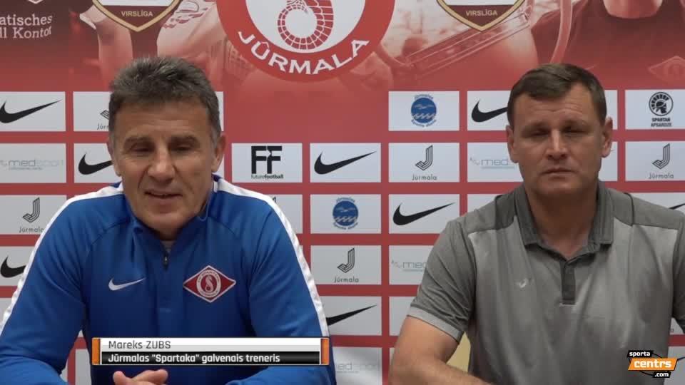VIDEO: SK Babīte/Dinamo - Spartaks Jūrmala 0:1 preses konference (16.jūn.)