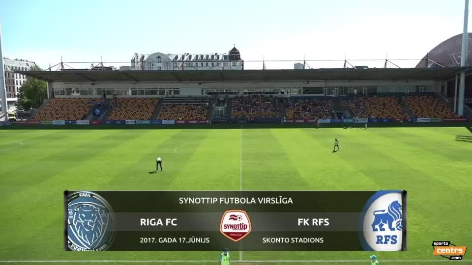 VIDEO: Riga FC - RFS 3:0 spēles momenti (17.jūn.)