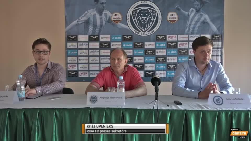 VIDEO: Riga FC - RFS 3:0 preses konference (17.jūn.)