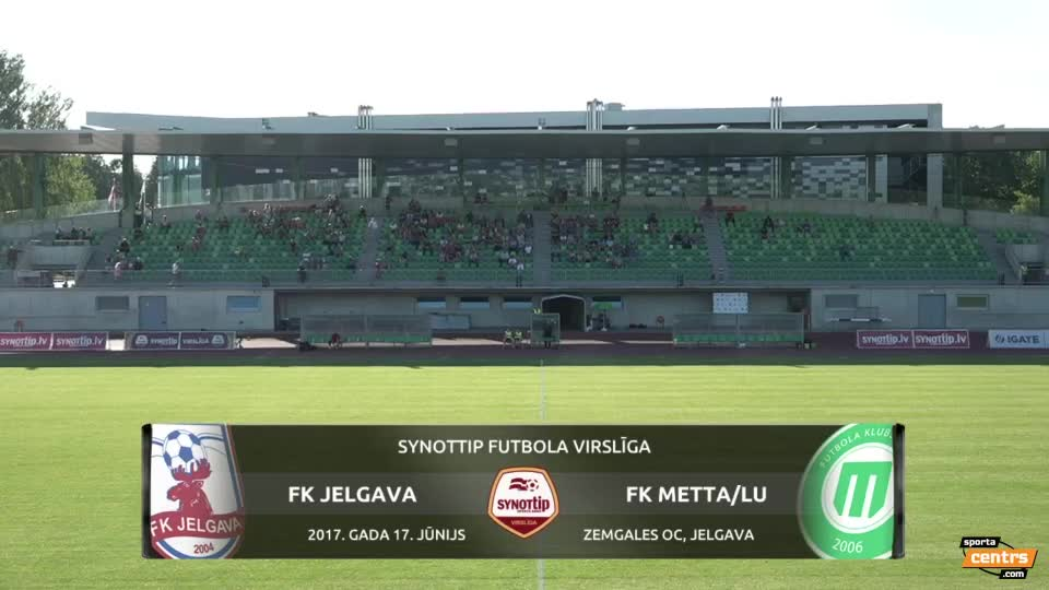 VIDEO: FK Jelgava - FK Metta/LU 2:0 spēles momenti (17.jūn.)