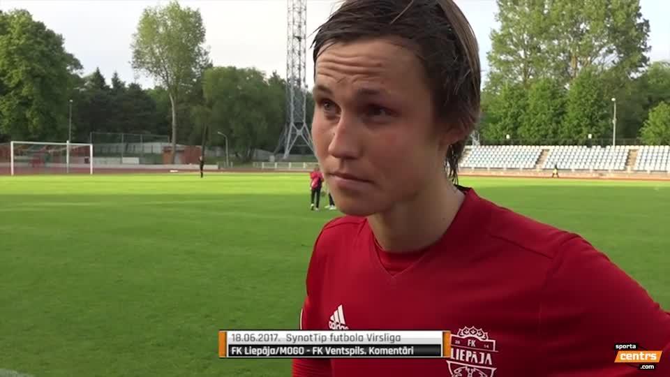 VIDEO: FK Liepāja/Mogo - FK Ventspils 1:0 preses konference (18.jūn.)