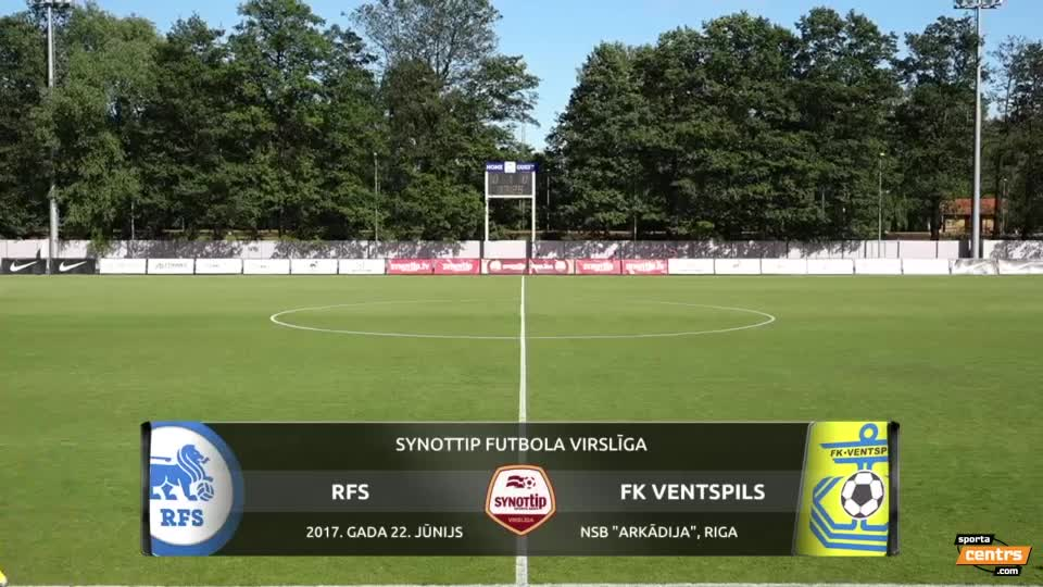 VIDEO: RFS - FK Ventspils 4:2 spēles momenti (22.jun.)