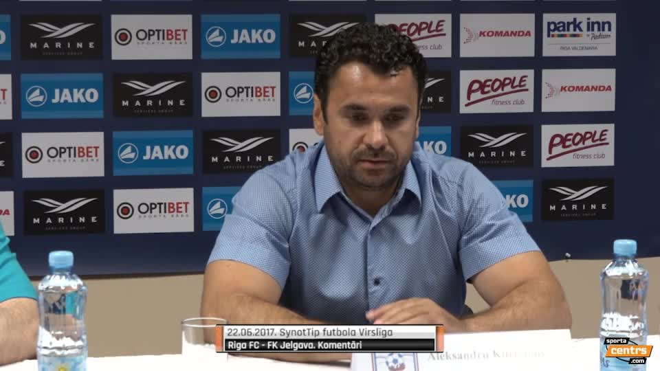 VIDEO: Riga FC - FK Jelgava 1:0 preses konference (22.jun.)