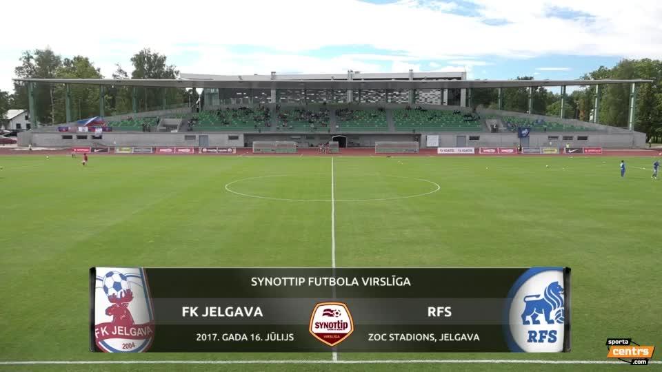 VIDEO: FK Jelgava - RFS 1:1 spēles momenti (16.jūl.)