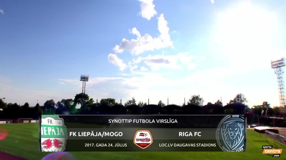VIDEO: FK Liepāja/Mogo - Riga FC 2:1 spēles momenti (24.jūl.)