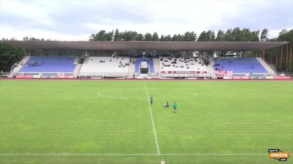 VIDEO: Spartaks Jūrmala - Riga FC 2:0 spēles momenti (7.aug.)