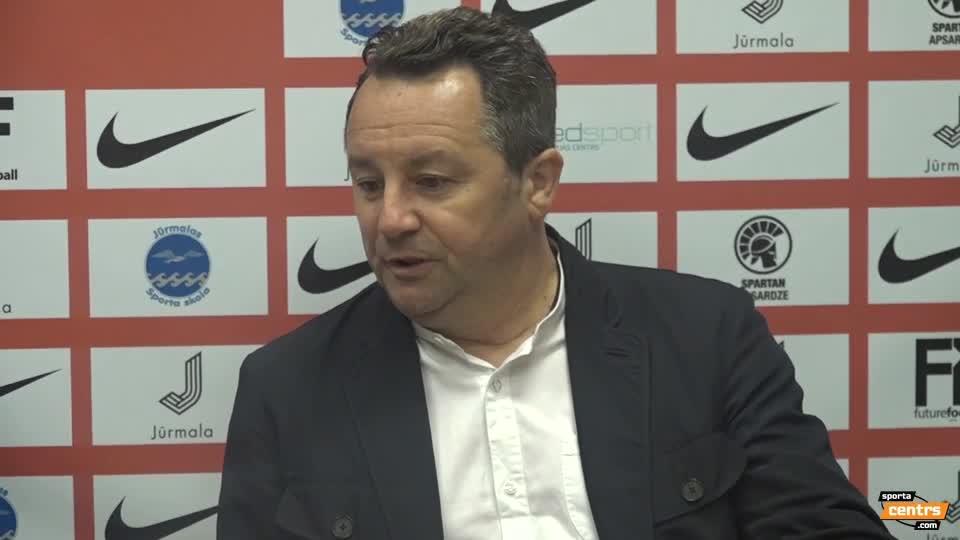 VIDEO: Spartaks Jūrmala - Riga FC 2:0 preses konference (7.aug.)
