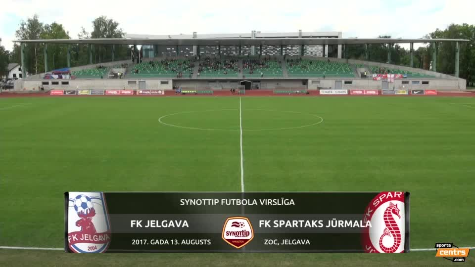 VIDEO: FK Jelgava - Spartaks Jūrmala 1:2 spēles momenti (13.aug.)