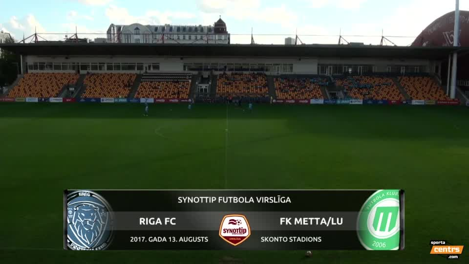 VIDEO: Riga FC - FK Metta/Latvijas Universitāte 4:0 spēles momenti (13.jaug.)