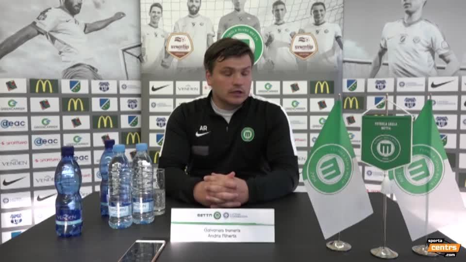 VIDEO: FK Metta/Latvijas Universitāte  - FK Jelgava 0:0 preses konference (21.aug.)